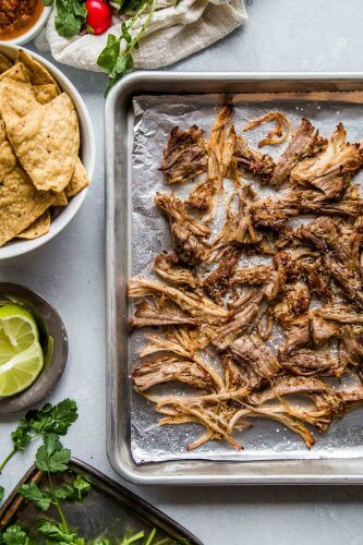 Crispy carnitas from the Instant Pot