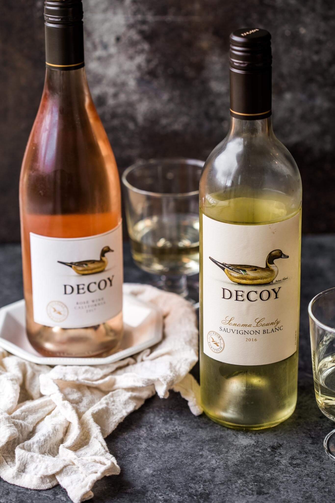 Decoy wine bottles