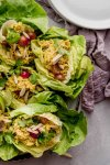 Curry Chicken Salad Lettuce Wraps can be assembled in just 5-minutes and with 4-ingredients, making them the perfect solution for busy weeknight dinners or meal prep.