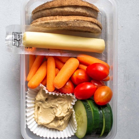 Veggie & Hummus Bistro Box