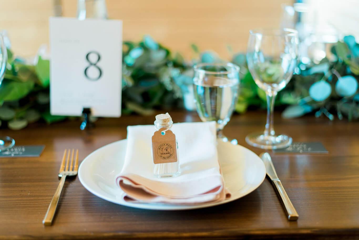 DIY Wedding Match Favors