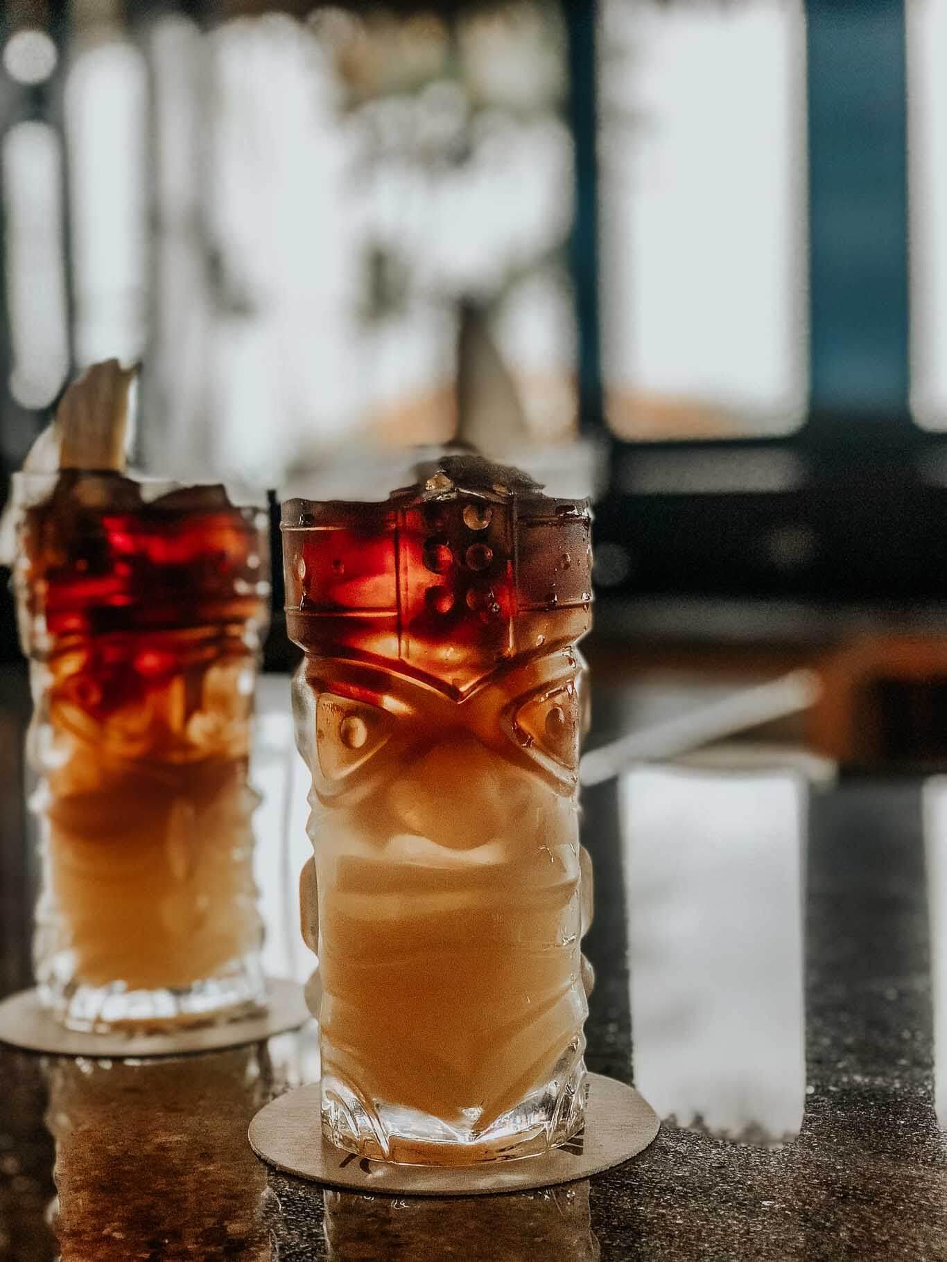 Drinks at Tidepools in Kauai