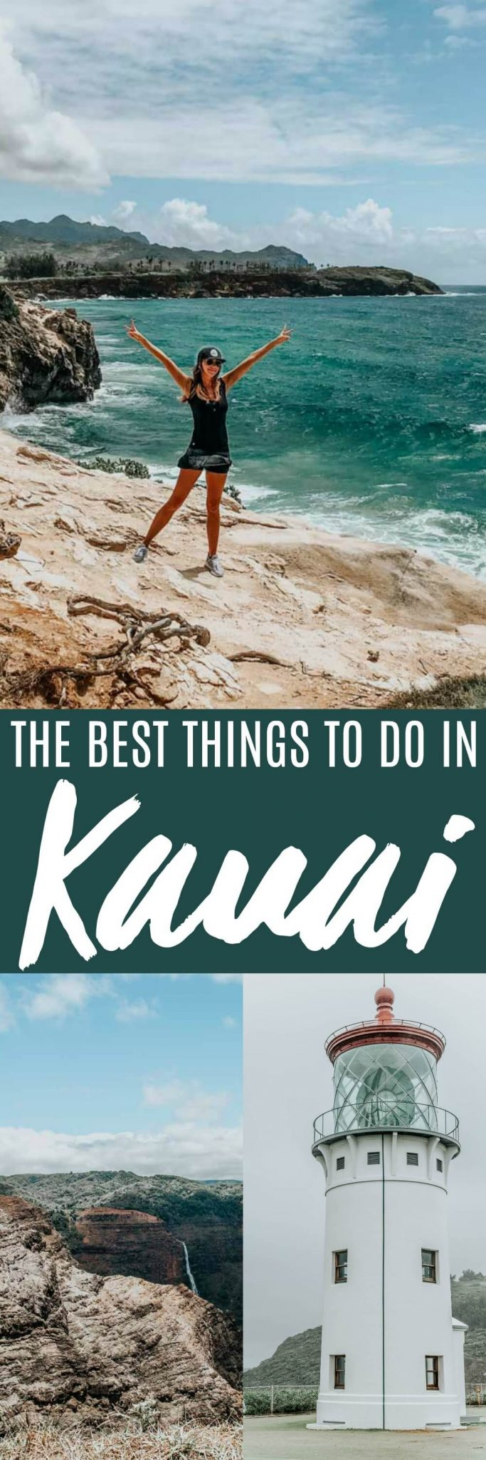 Tropical Kauai, Hawaii offers beautiful hiking trails, a stunning lighthouse, & amazing food. Here are some of the best things to do and where to eat when visiting Kauai.