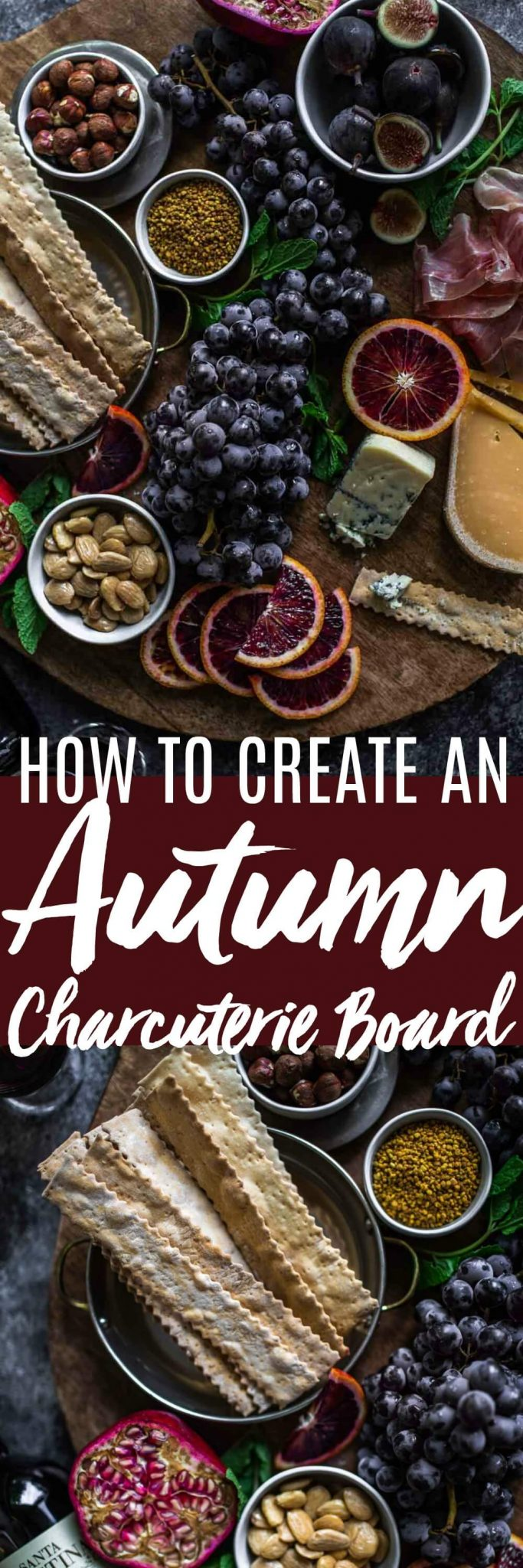 These Cheese Board Ideas for Fall will help you create a gorgeous charcuterie board that's perfect for the autumn season. #cheeseboard #appetizer #charcuterie