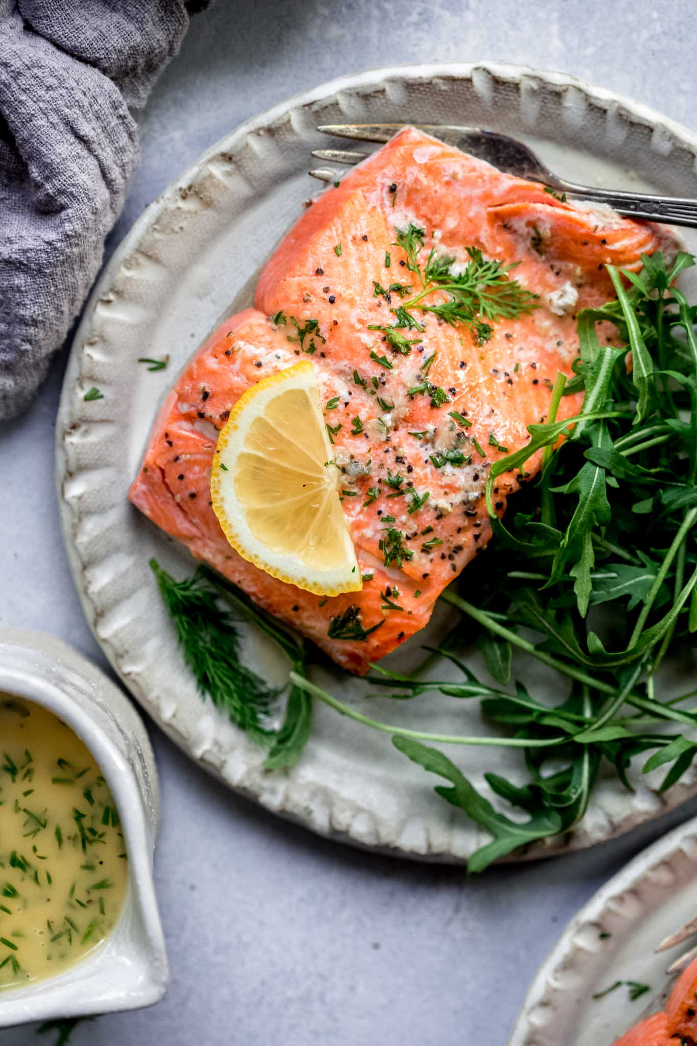 Instant Pot Salmon With Lemon Dill Sauce Platings Pairings