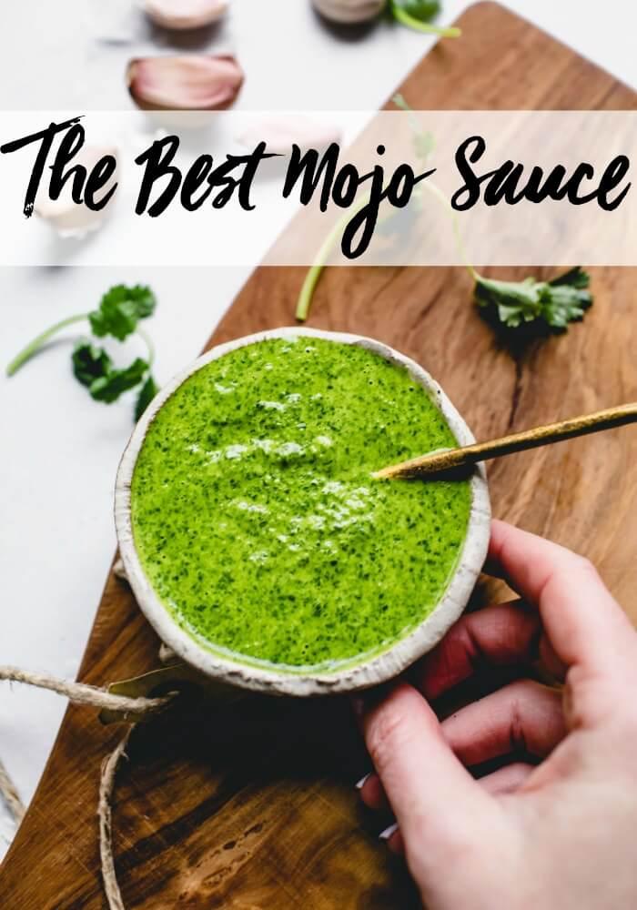 Mojo Sauce Recipe Video Platings Pairings