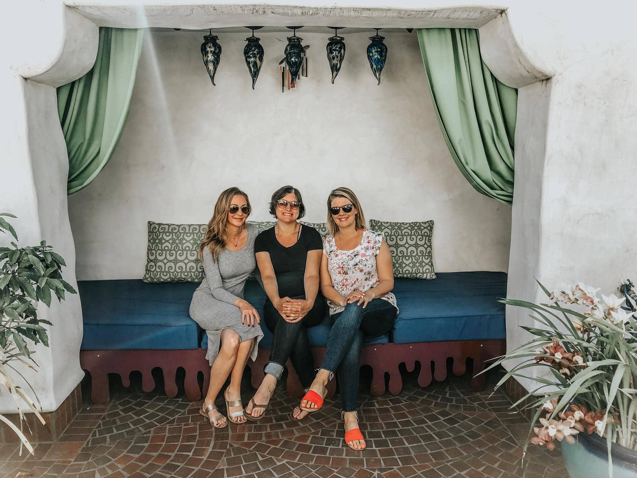Erin, Alyssa & Nicole in Santa Barbara.