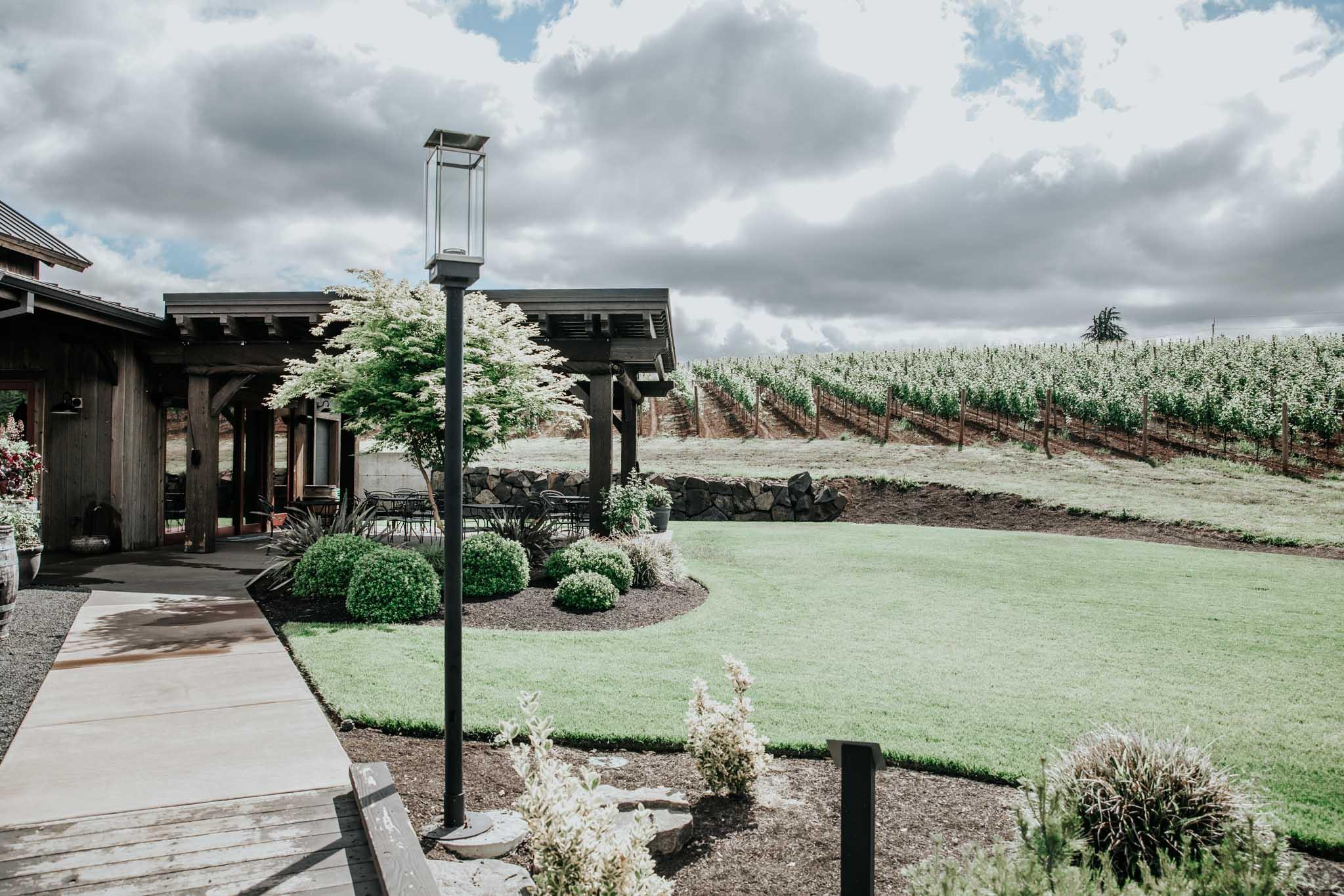 Yard at Tumwater Vineyard