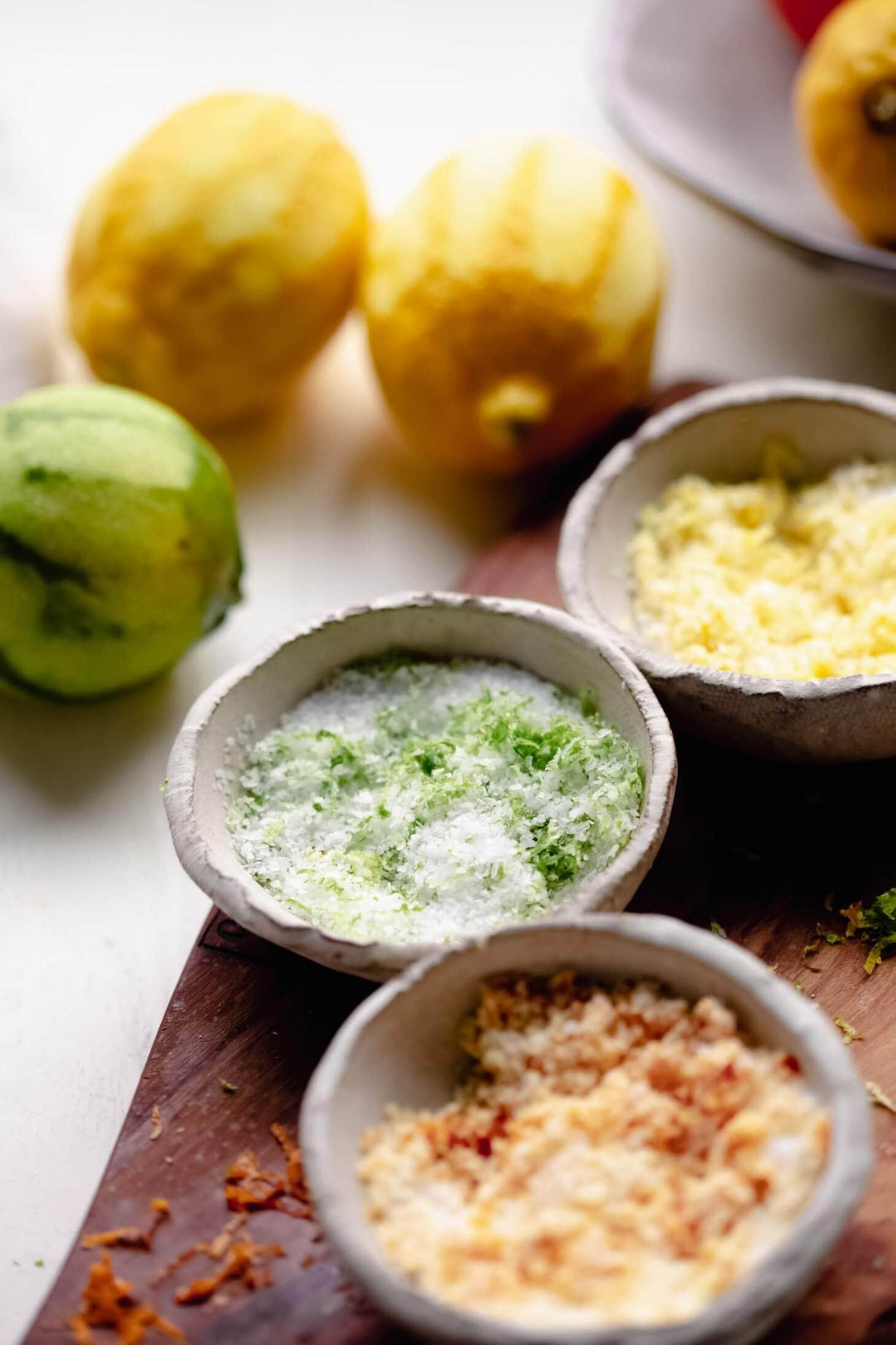 Easy Citrus Salt Recipe Video Diy Food Gift Platings Pairings