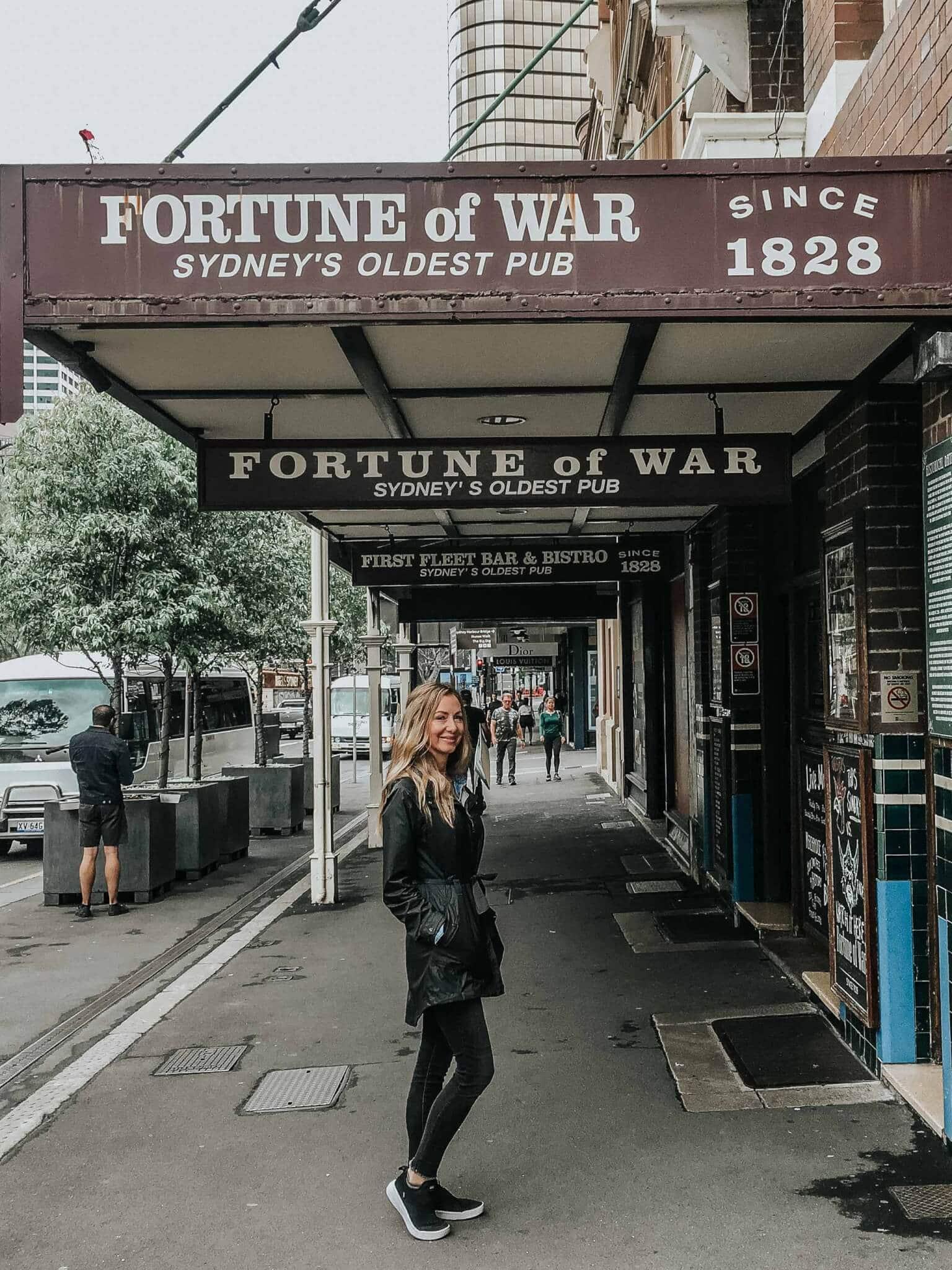 oldest pub in sydney australia