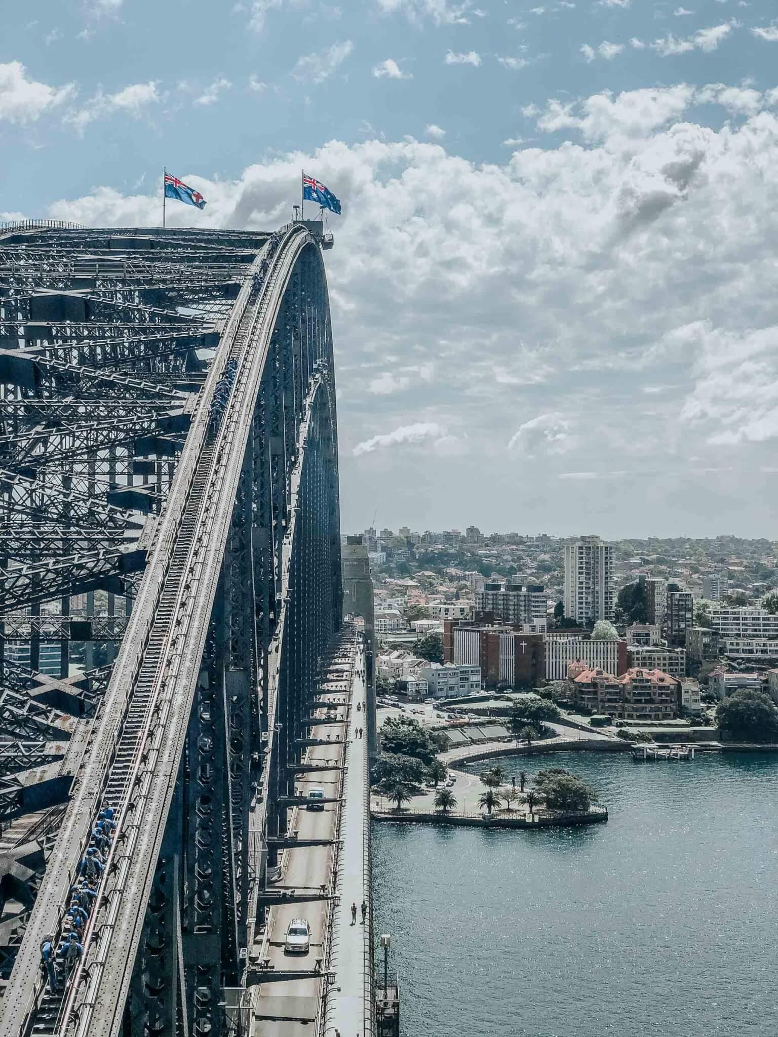 harbor bridge in sydney