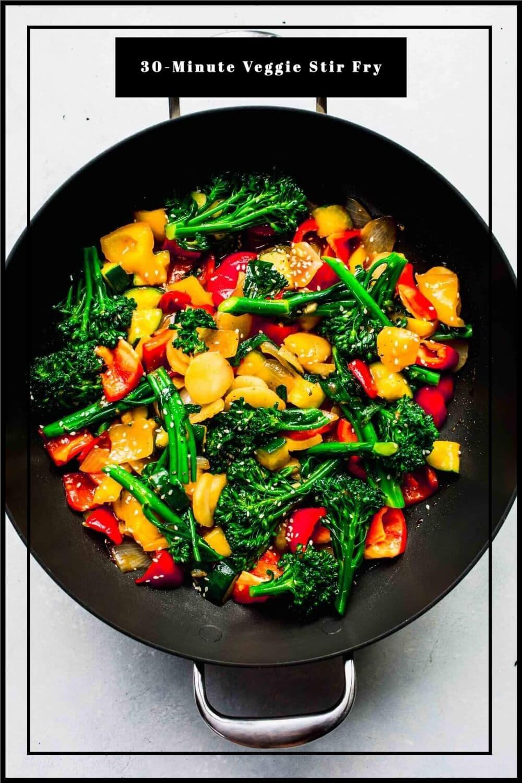 Veggie Stir Fry With Ginger Garlic Platings Pairings